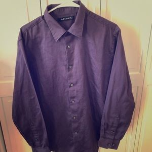 Axist purple button up
